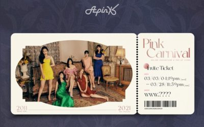 Apink Pink Carnival ticket