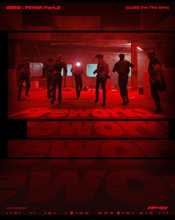 ATEEZ corre por su vida en el último póster de 'Zero: Fever Part. 2'