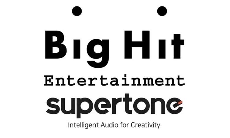Big Hit Entertainment comienza a invertir en audio AI Supertone