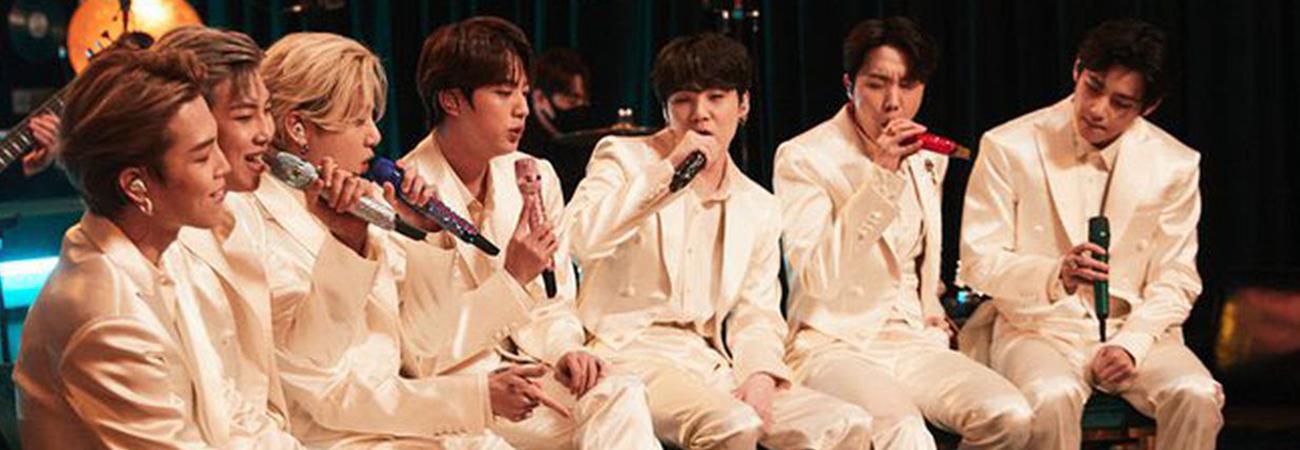 Disfruta las bellas presentaciones de BTS en los MV Unplugged