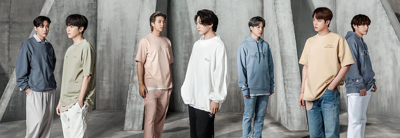 FILA anuncia preventa de su colección con BTS: 'Now ON'