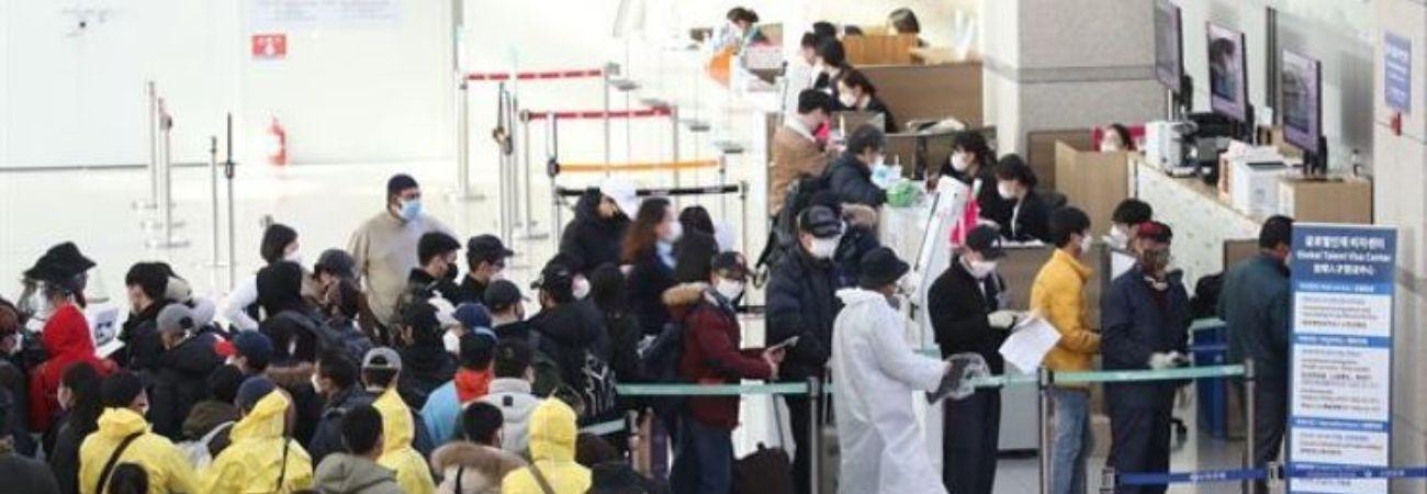 Extranjeros que están en Corea a pesar de la expiración de su visa va en aumento