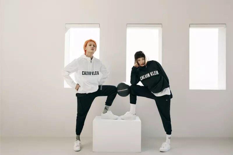 Dawn y Hyuna muestra una química única para Calvin Klein