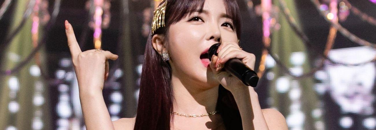Hong Jin Young aparece en un programa especial de Año Nuevo Lunar