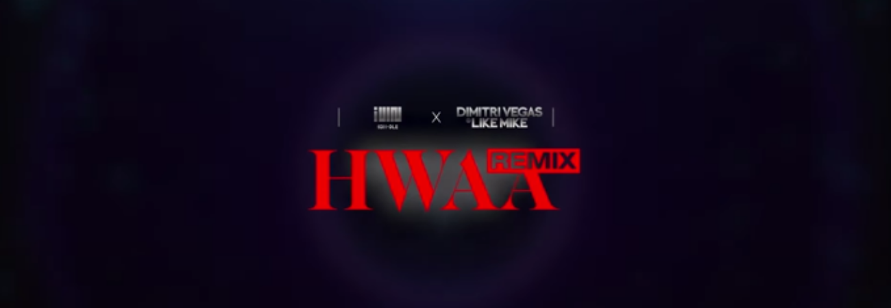 (G) I-DLE x Dimitri Vegas & Like Mike revelan audio teaser para el remix de 'HWAA'