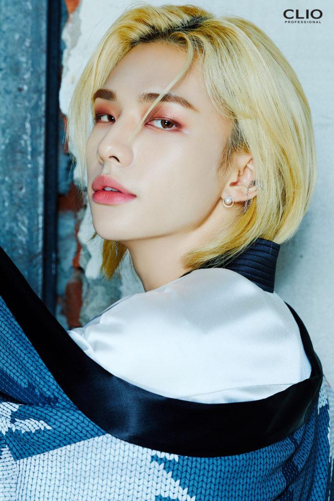 CLIO comparte nuevas y candentes fotos de Bang Chan y Hyunjin de Stray Kids
