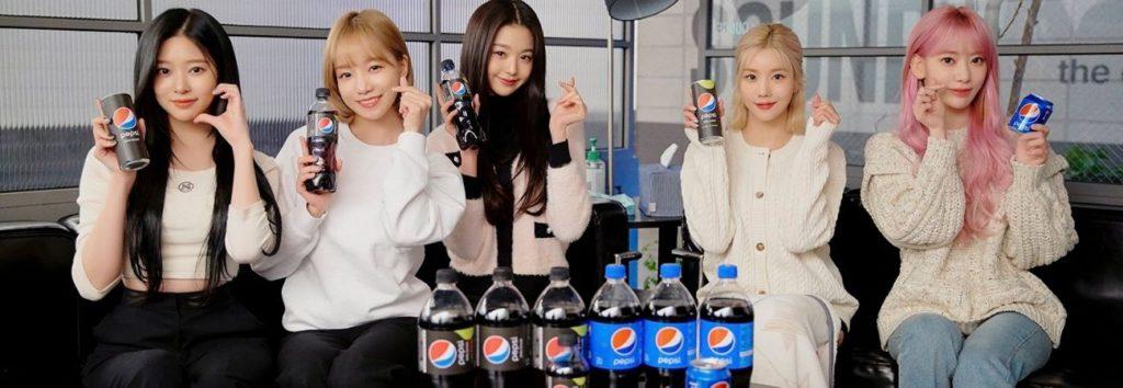 'ZERO:ATTITUDE' de IZ*ONE y Soyou x ph-1 para la campaña de Pepsi será lanzada el 15 de febrero