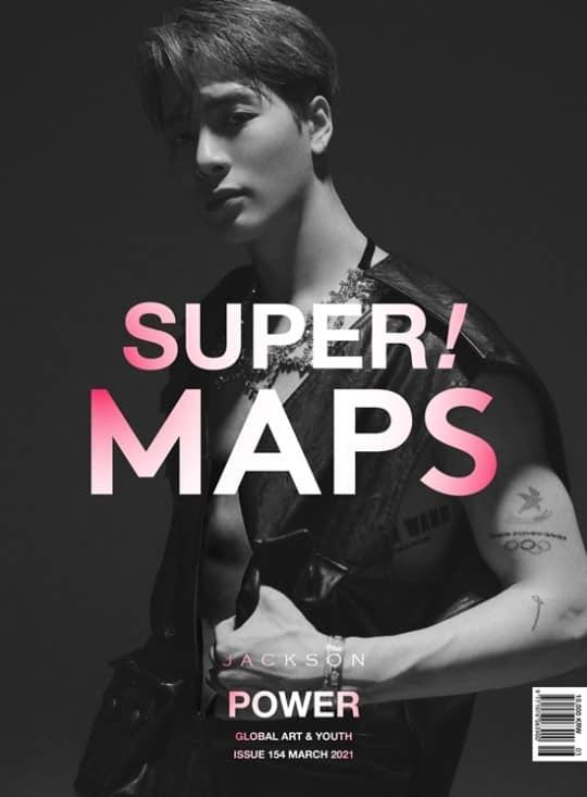 Jackson de GOT7 luce impresionante y agota su edición de marzo para MAPS