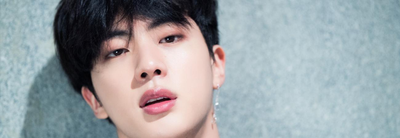 Dispatch revela que las fotos de Jin de BTS no necesitan edición por su fasciante belleza