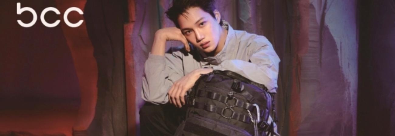 Kai de EXO es el modelo exclusivo para la colección BCC de la marca Blackyak