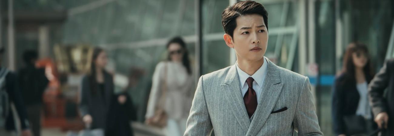 La llegada de Song Joong Ki a Corea en el dorama Vicenzo causa una gran conmoción