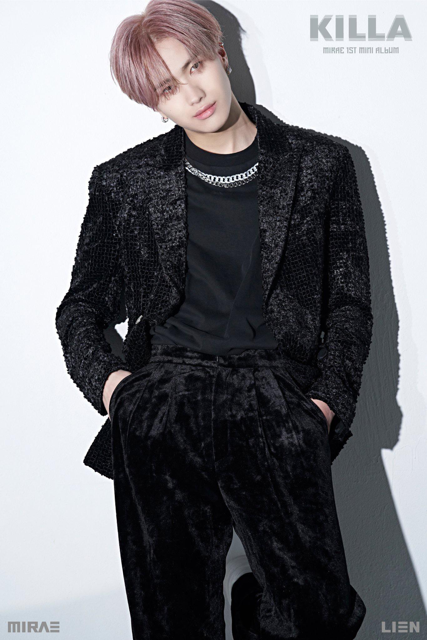 Dong Pyo y Lien de MIRAE comparten sus sus fotos teaser para 'KILLA'