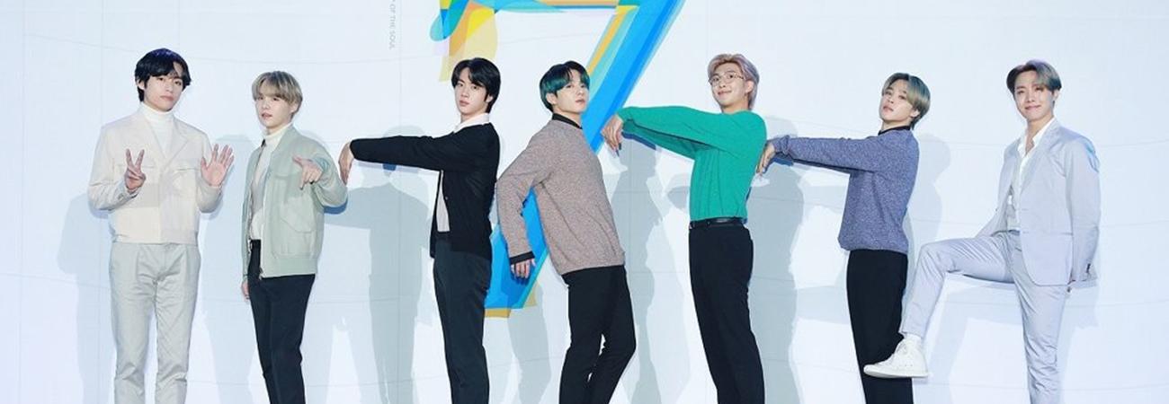 'Map of the Soul: 7' de BTS celebra su primer año en la lista 'Billboard 200'