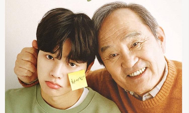 Te sorprenderá el parecido de Song Kang y Park In Hwan con el webtoon de Navillera