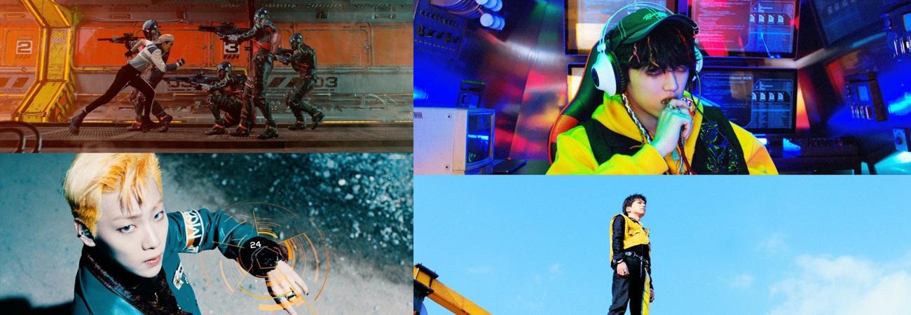 ONF son unos guapos agentes secretos del futuro en sus fotos teaser para ONF: My Name