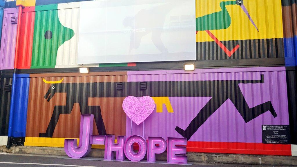 Fans chinos crean un parque temático en honor a J-Hope de BTS