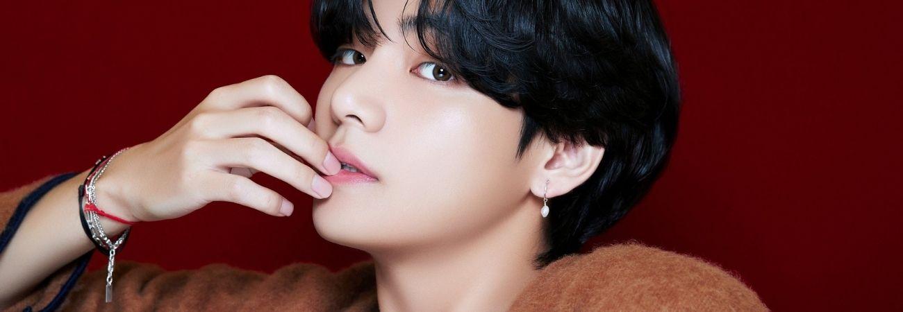 Netizens eligen a V de BTS como el ídolo al que quieren darle chocolates en San Valentín