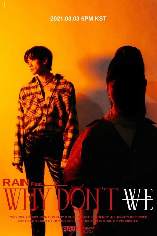 """Rain revela una imagen teaser que anuncia una colaboración para """"Why Don't We"""""""