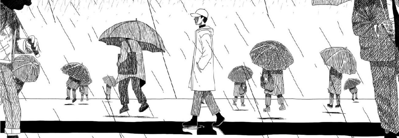 El caricaturista Choi Jaehoon, explica el proceso de realizar las ilustraciones de Forever Rain para RM