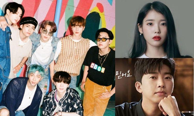 Ranking mensal: BTS e IU são os cantores mais populares do mês de fevereiro