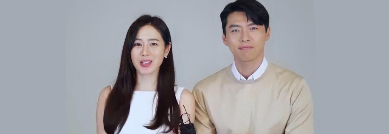 Hyun Bin y Son Ye Jin hablan de su primer comercial juntos como pareja