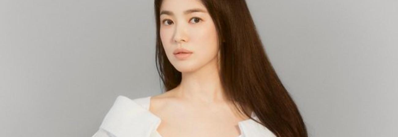 Song Hye Kyo es la primera actriz coreana en ser embajadora de la marca Fendi