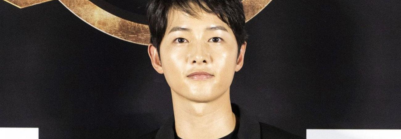Song Joong Ki aclara su comentario de sentirse 'devastado' y por esto, asumir su papel en 'Space Sweepers'