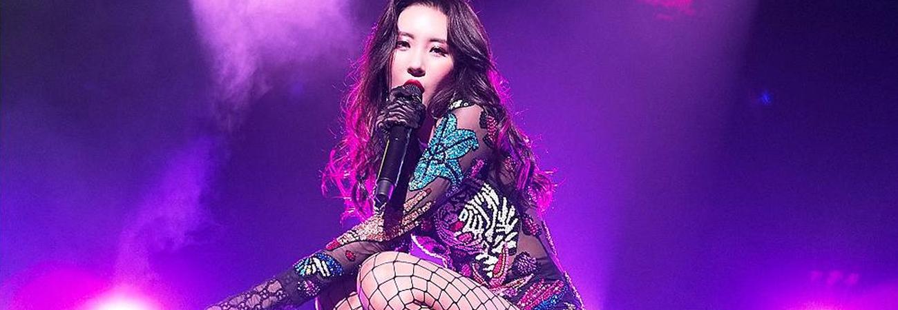 Sunmi revela su calendario de promociones para su esperado comeback