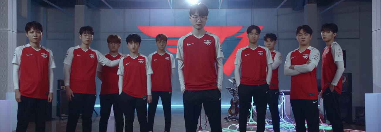 Baekhyun de EXO, Changmo, y Raiden están listos con T1 para League of Legends con la canción Runner