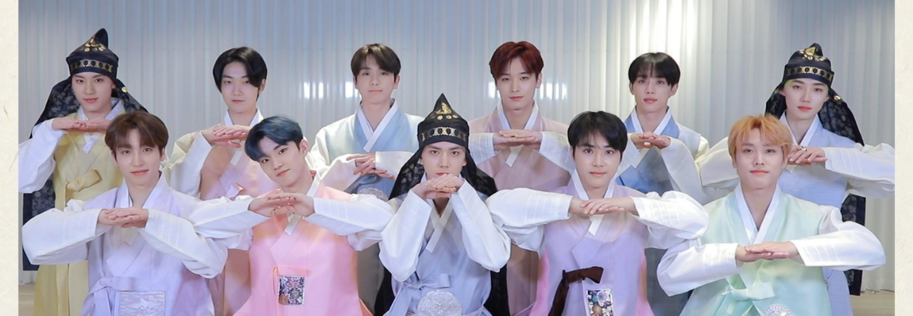 THE BOYZ envía un mensaje a sus fans en la celebración del Año Nuevo Lunar