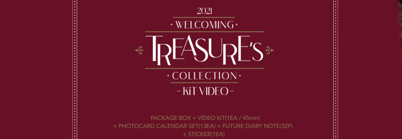 Inicia preventa de 'Welcoming Collection' de TREASURE