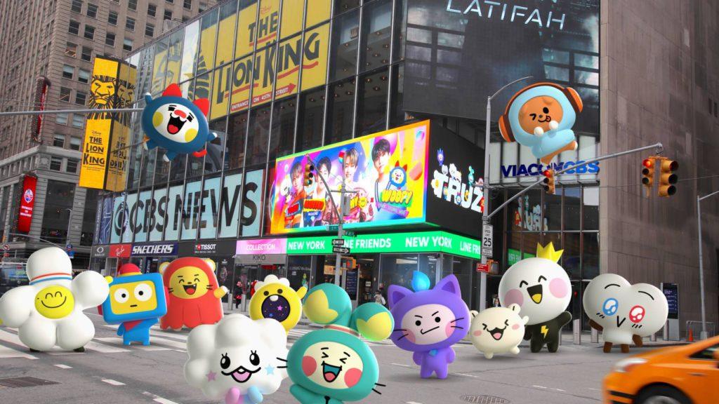 'TRUZ', los personajes de TREASURE adornarán el Times Square en Nueva York