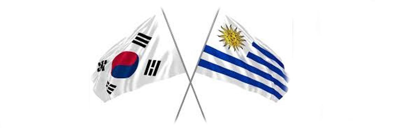 Corea del Sur firma un convenio de seguridad con Uruguay