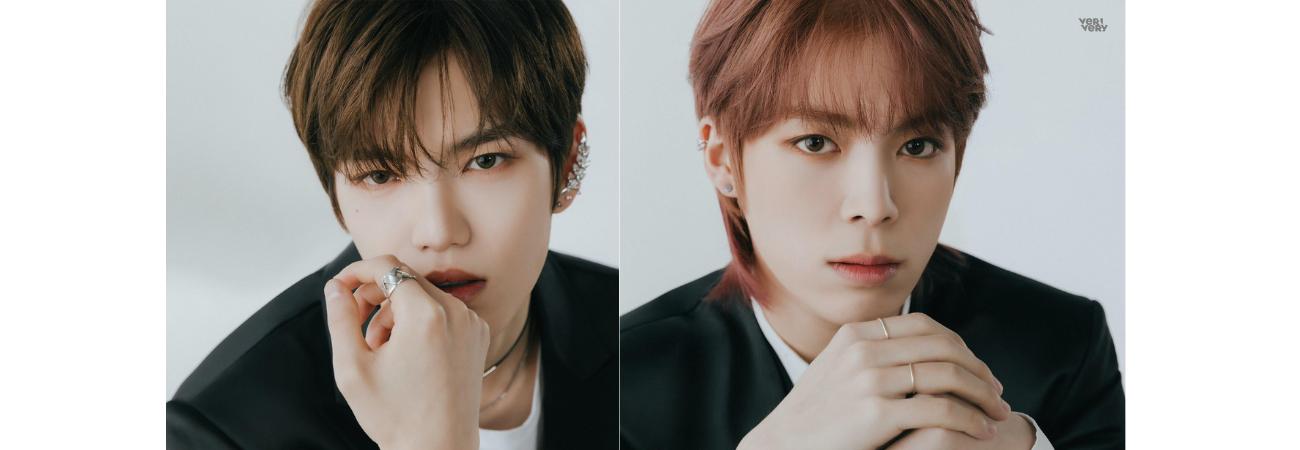 Gyeheon & Yeonho de VERIVERY revelan sus fotos para 'Series O – Round I: Hall'