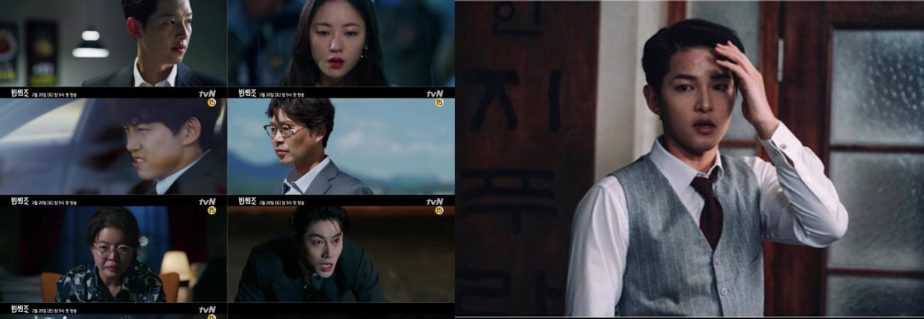 El guionista y el director del dorama Vincenzo felicitan a Song Joong Ki, Jeon Yeo Bin y Taecyeon de 2PM