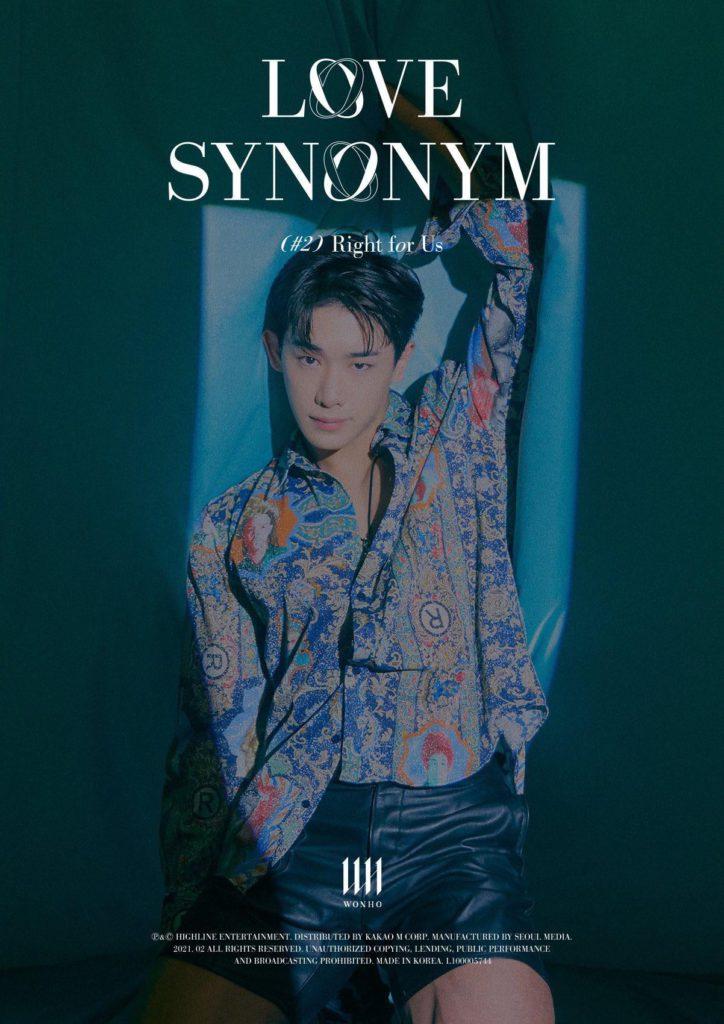 Wonho irradia sensualidad en las fotos conceptuales de 'Love Synonym' parte 2 (Right for Us)
