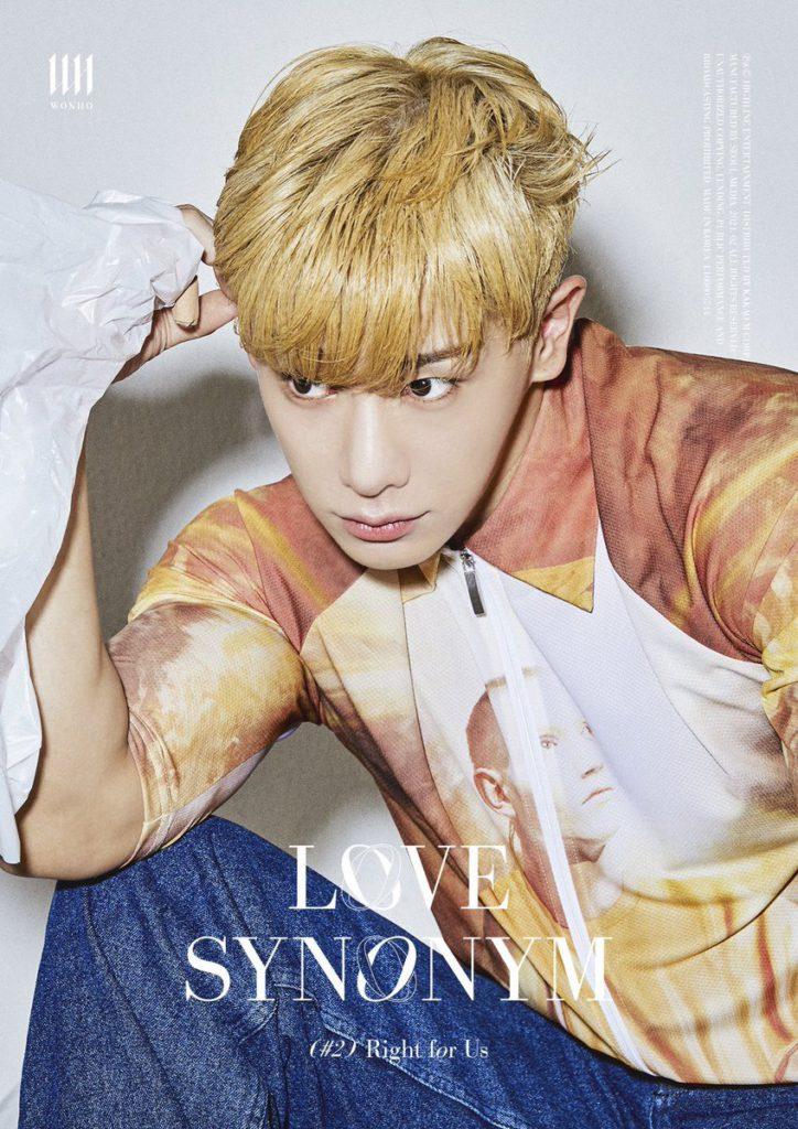 Wonho nos conquista con nuevas fotos conceptuales para Love Synonym #2: Right for Us