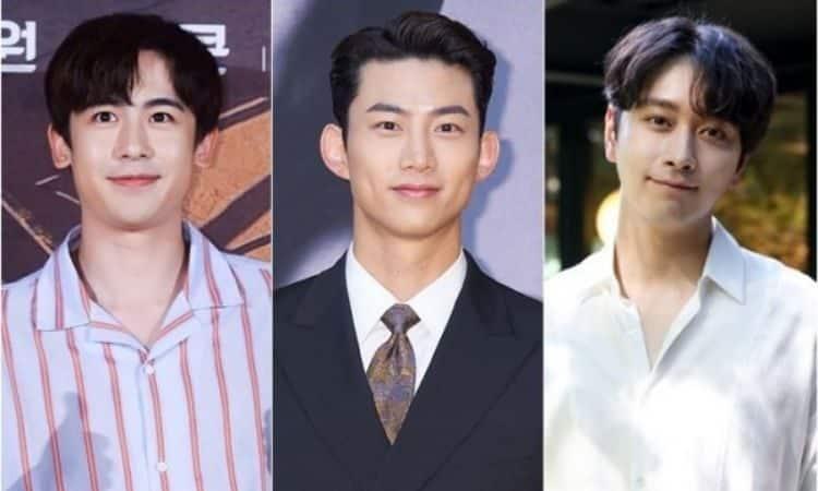 Nichkhun, Taecyeon y Chansung de 2PM