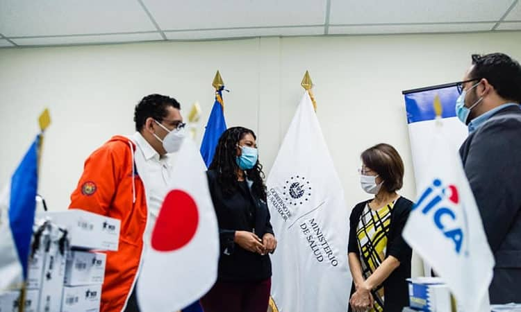 Jica realizar una importante donación a El Salvador para combatir el COVID-19