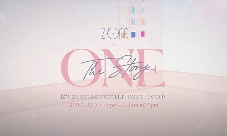 IZ*ONE presenta un melancólico trailer para su concierto One, The Story
