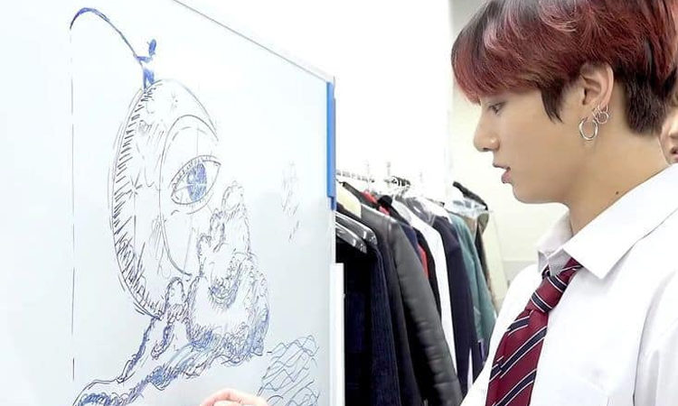 Jungkook de BTS es la competencia de Picasso por estas obras maestras