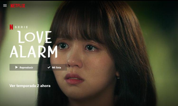 ¡La espera ha terminado el dorama Love Alarm 2 ya se encuentra en Netflix!