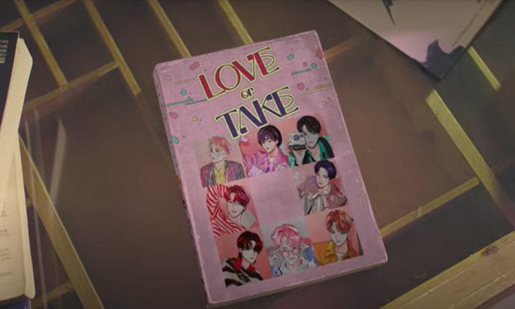 PENTAGON se convierten en webtoons para el Mv teaser de Love or Take