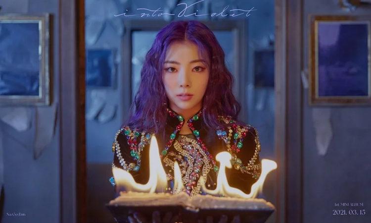 Goeun & Jieun de PURPLE K!SS están en fuego en su teaser de fotos de Into Violet