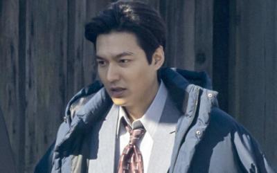 Captan a Lee Min Ho en las grabaciones de 'Pachinko' en Canadá