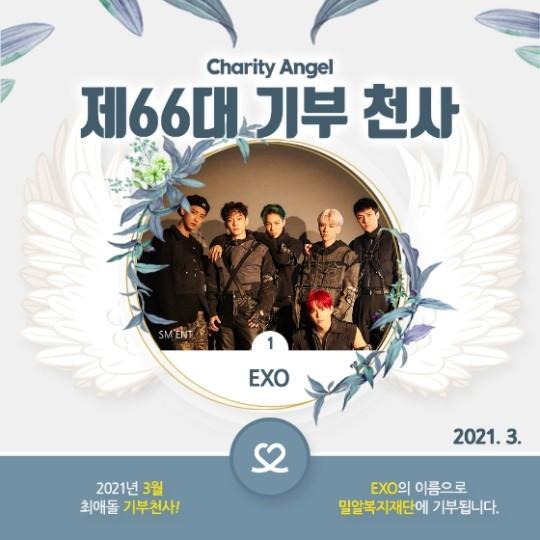 EXO ángel de la donación de Choe Aedol