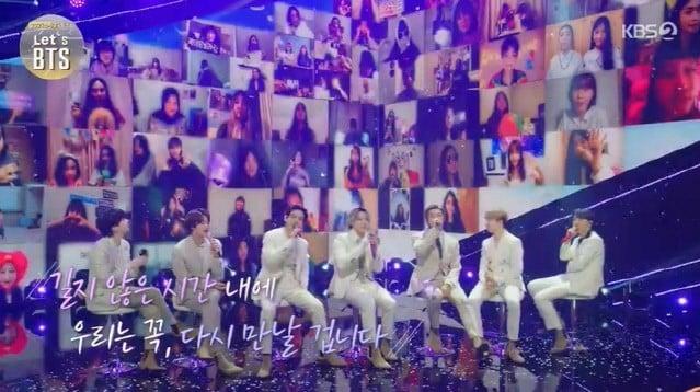 Escena de Let's BTS