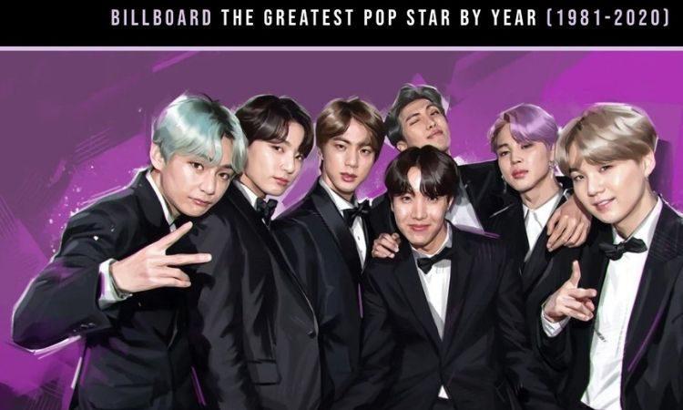 BTS es la Mejor Estrella de 2020