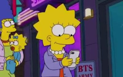 BTS en The Simpsons