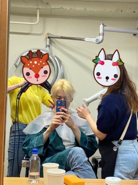 Cha Eun Woo de ASTRO comparte fotos luciendo su nuevo color de cabello